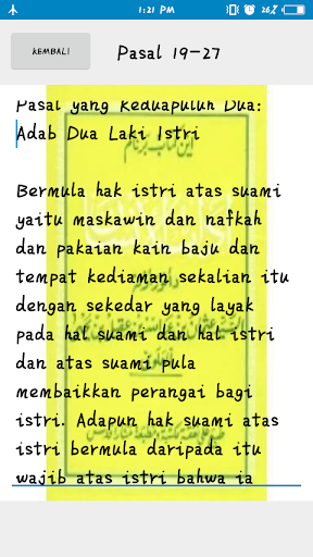Kitab Adabul Insan screenshot 1