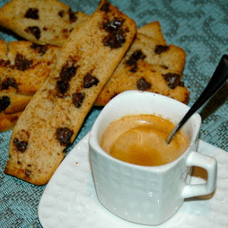 Pumpkin Chocolate Biscotti
