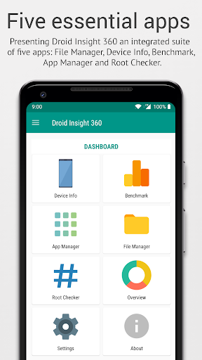 Droid Insight 360: File Manager, App Manager 3.0.9 screenshots 1
