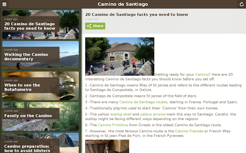 Camino de Santiago - náhled