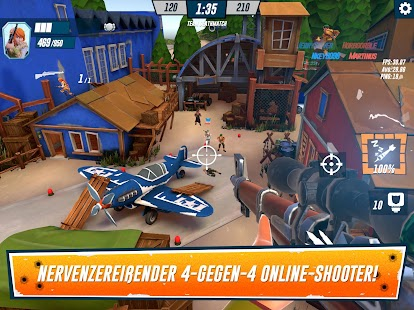 Heroes of Warland - PvP-Shooting-Arena Screenshot