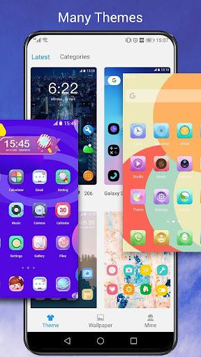 O Launcher for 8.0 O Oreo Launcher style 6.7.1 screenshots 2