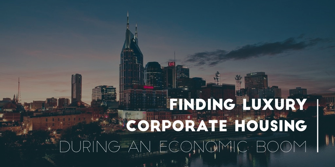 Nashville Memphis corporate housing great economy