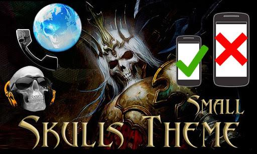 Skulls Theme - Small Screen