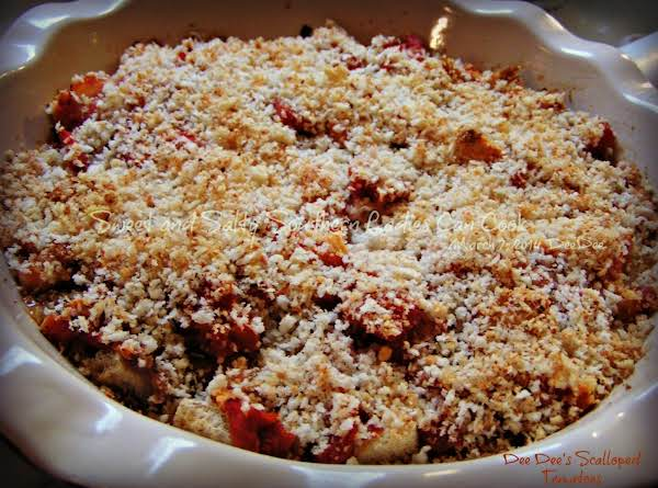 Scalloped Tomatoes Dee Dee's Way