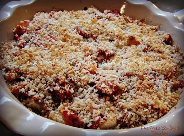 Scalloped Tomatoes Dee Dee's Way