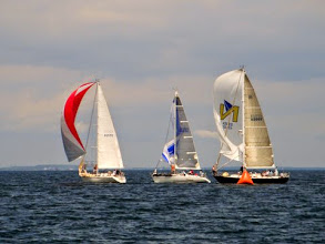 Photo: Setting Spinnakers! -Day 2