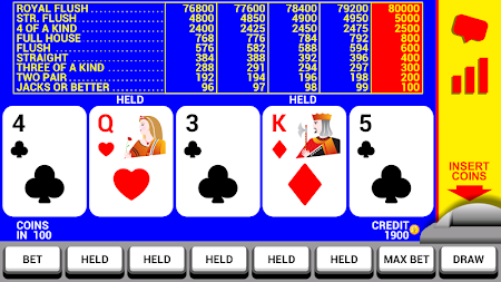 Video Poker with Double Up 8.2 screenshot 227141