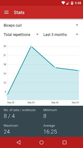 Redy Gym Log, Exercise Tracker screenshot 6