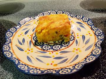 CLAUDINE'S CHEESY MEXICAN CORNBREAD