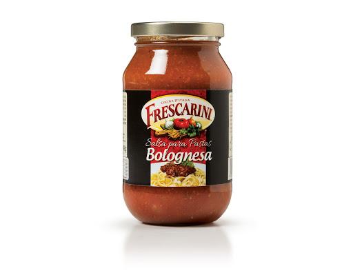 salsa para pasta frescarini bolognesa 490gr