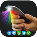 Color flashlight: flash on call & sms, flash alert APK