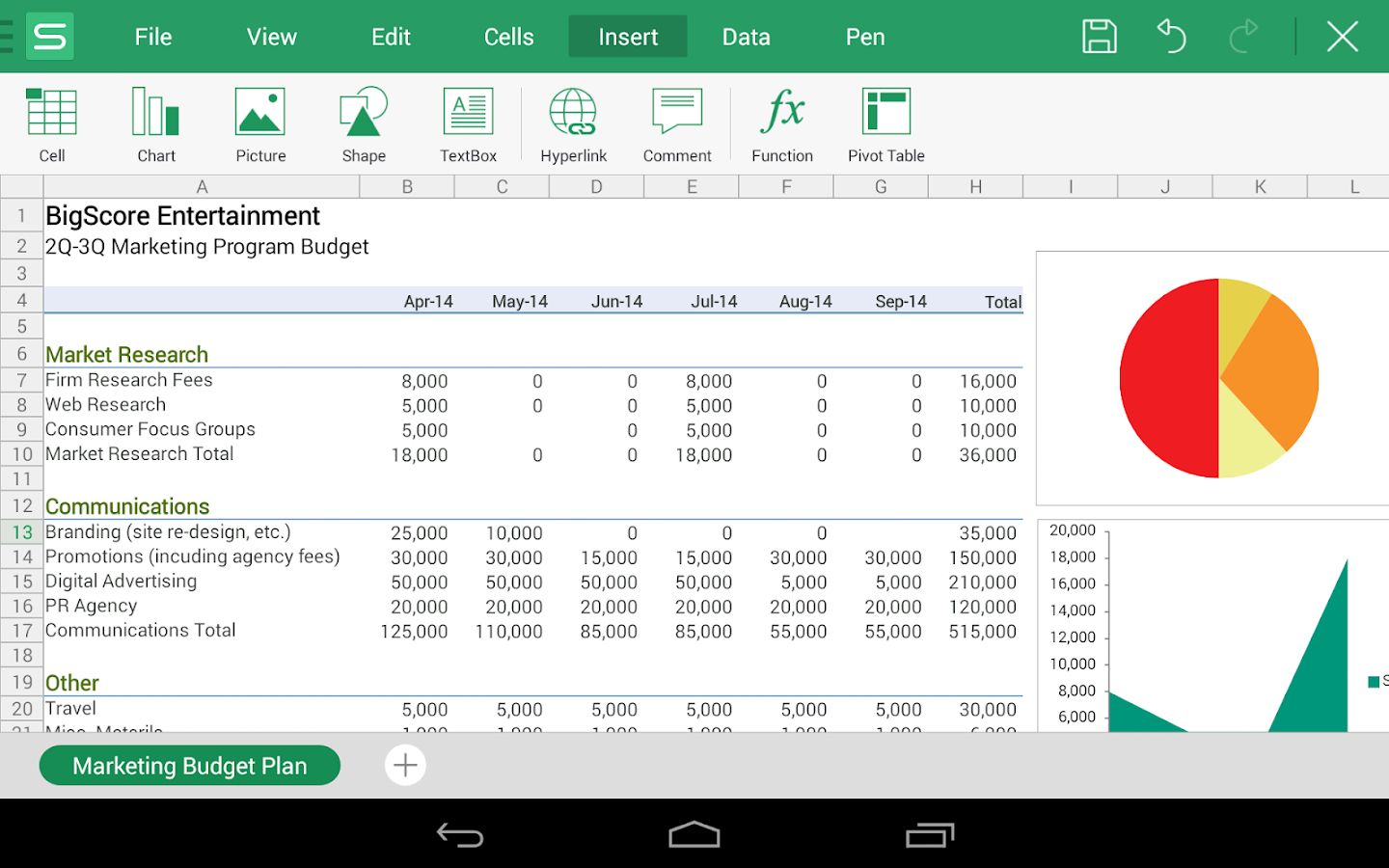 WPS Office + PDF - screenshot