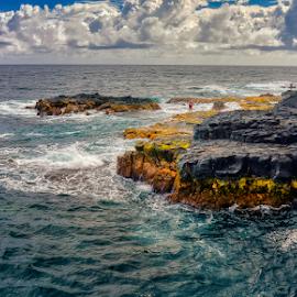 Kauai by Fabienne Lawrence - Uncategorized All Uncategorized ( landscape photography, rocks, kauai, landscap, water, sea )