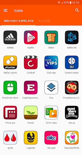 MIUI CARBON - ICON PACK screenshot 8