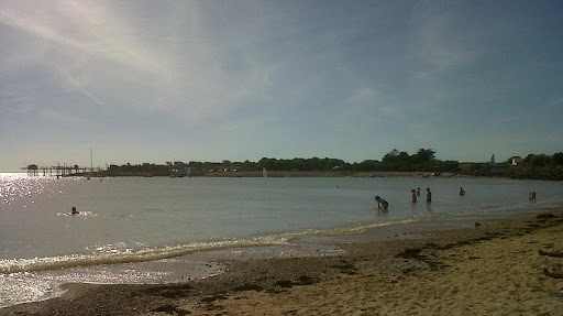 A sandy beach South La Rochelle
