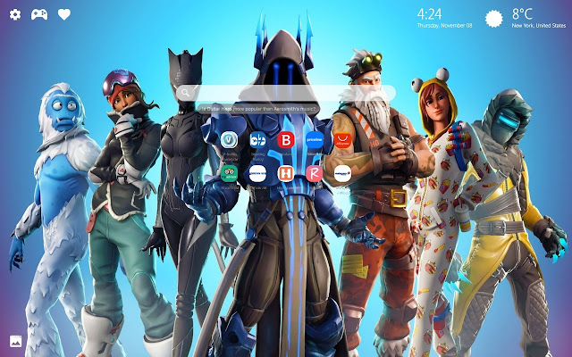 Fortnite Skin Wallpaper Hd New Tab Background