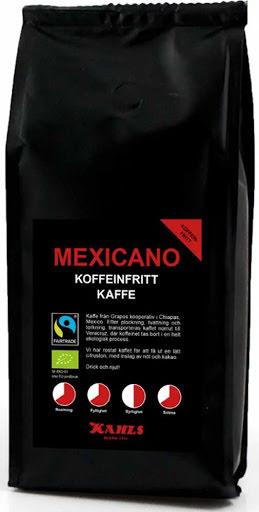 Mexicano koffeinfritt bryggmalet kaffe – Kahls