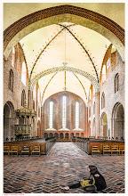 Photo: Løgum Kloster Kirche / the Kingdom of Denmark, is a Scandinavian country