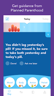 Spot On Period, Birth Control, & Cycle Tracker- screenshot thumbnail