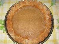 Brown Sugar Pie Recipe