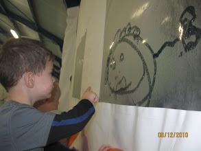 Photo: а это наш художник