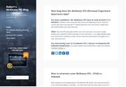 Ultimate McKinsey PEI Blog