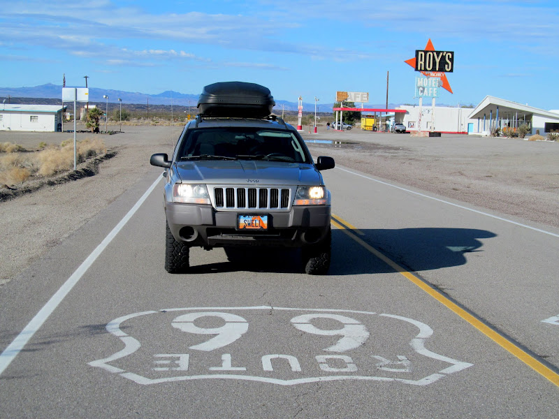 Photo: Route 66 road signage
