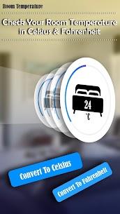 Mobile Room Temperature Checker: Weather Forecast