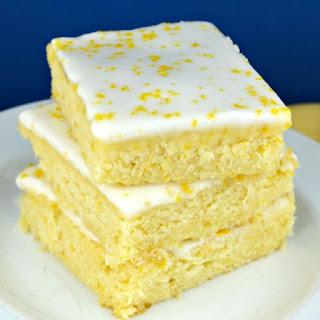 Lemon Brownies Recipes.