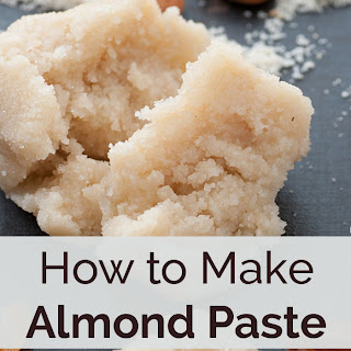 How to Make Almond Paste.