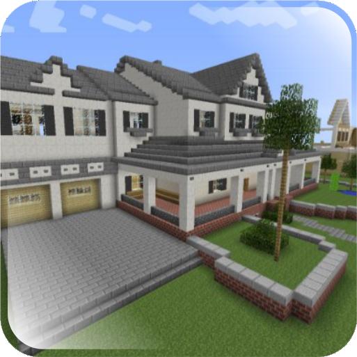 Minecraft Häuser Modern i modern minecraft house design izinhlelo ze android ku play
