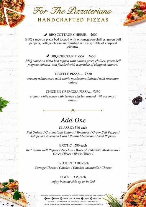 August Cafe menu 8