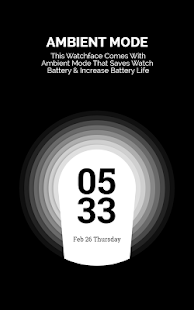 Chroomy Digital Watch Face- screenshot thumbnail