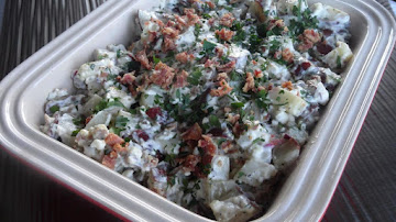 Bacon & Bleu Cheese Potato Salad Recipe