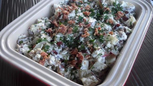 Bacon & Bleu Cheese Potato Salad Recipe