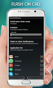 FlashLight on Call – Automatic Flash Light Blink 2
