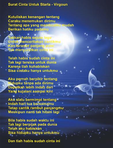 Download Virgoun Surat Cinta Starla Mp3 Google Play