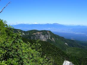 稲子岳(後ろに浅間山)