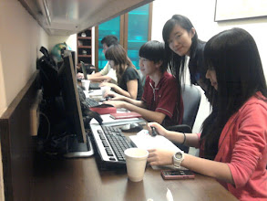 Photo: 21 January - IRIS - The committee hard at work on the eve of the TPIS AGM.