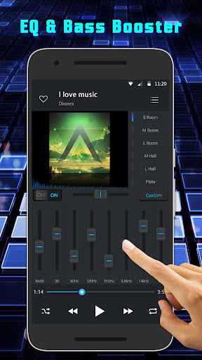 Equalizer Music Player Pro  screenshots 2
