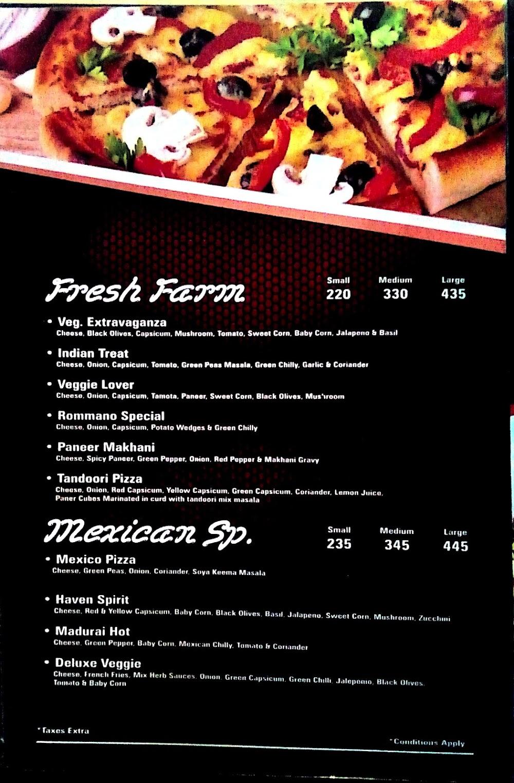 Pizza Burst Mira Road menu 3