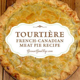 New England Tourtière (Meat Pie).