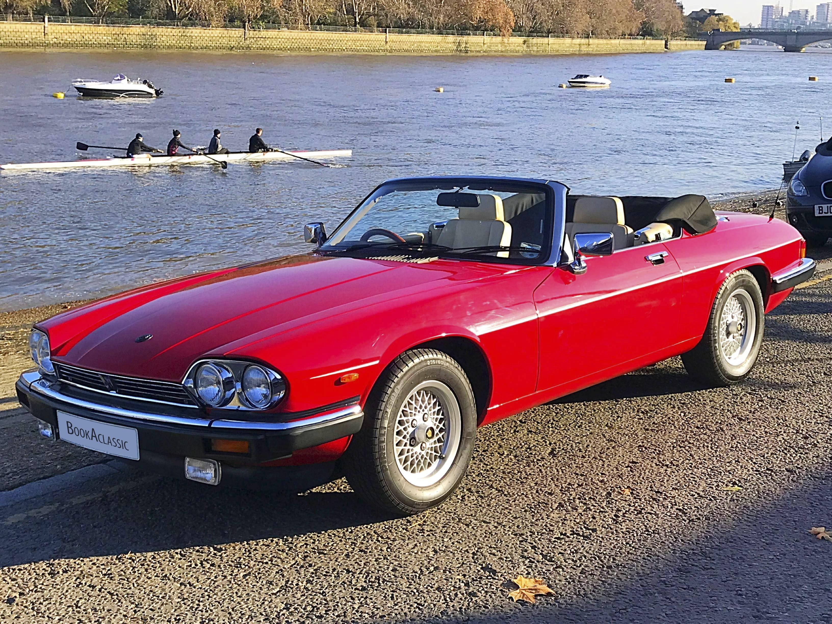 Jaguar Xjs Convertible Hire London