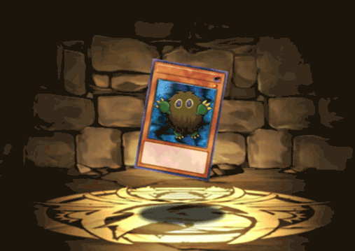 クリボーのカード