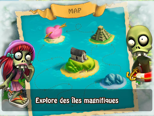 Zombie Castaways  captures d'écran 3