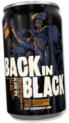 Logo of 21st Amendment Back In Black
