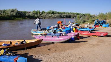 Photo: May 26, 2012 launch at Sand Island, UT