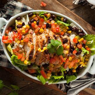 Southwest Grilled Chicken Salad.