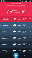 Screenshot of Weather Radio by WDT